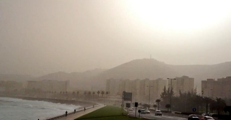 canarie tempesta sabbia calima