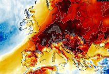 caldo europa febbraio