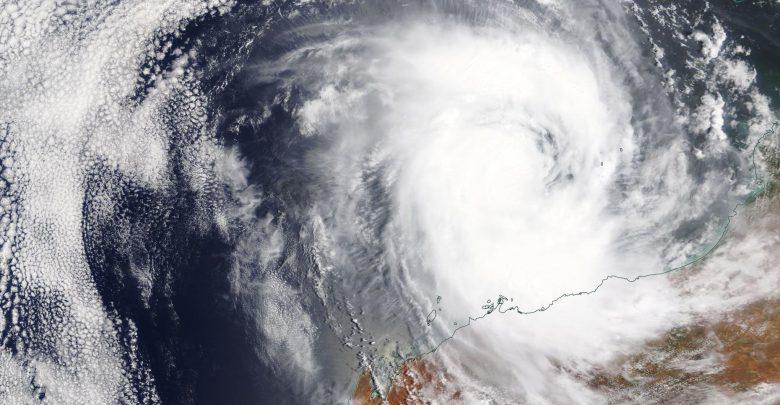 Australia Ciclone Damien