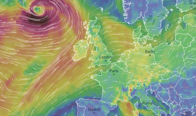 Europa tempesta