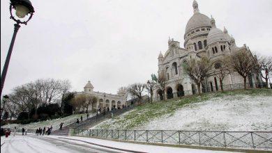 Europa freddo neve