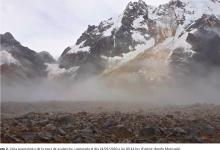 ghiacciaio perù alluvione