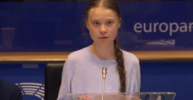 Greta Thunberg UE