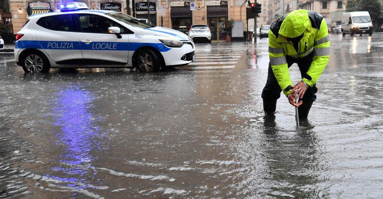 genova pioggia maltempo