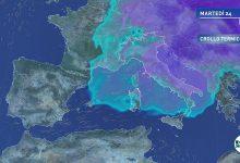 meteo freddo domani