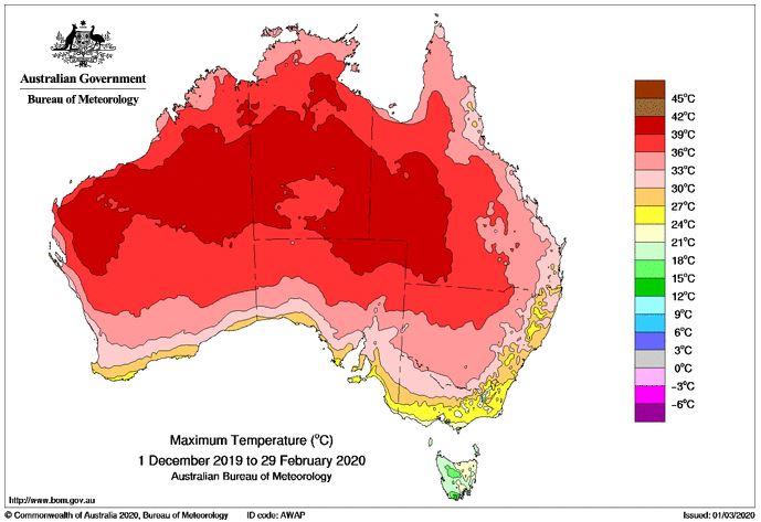 australia estate caldo 2019 2020