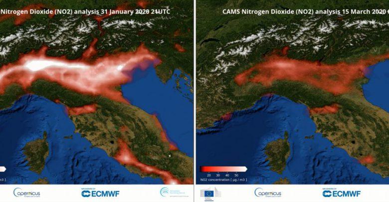 inquinamento coronavirus