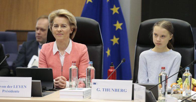 Greta Thunberg Bruxelles