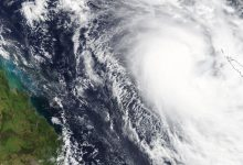 Australia ciclone Gretel