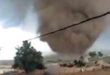 tornado marocco video