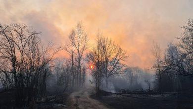 Chernobyl Ucraina incendio
