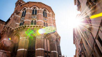 inverno sole italia venezia