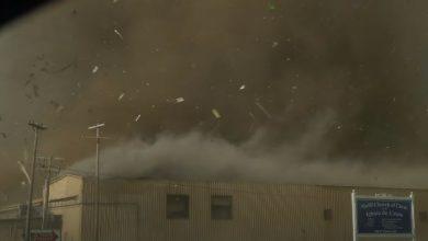 tornado madill video