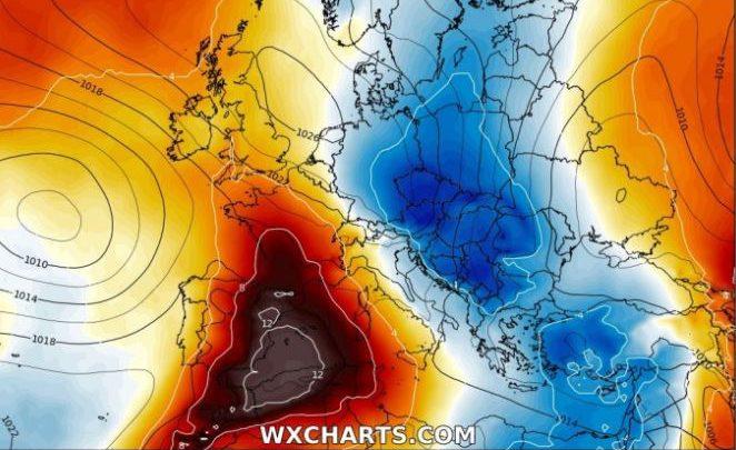 ondata di caldo europa