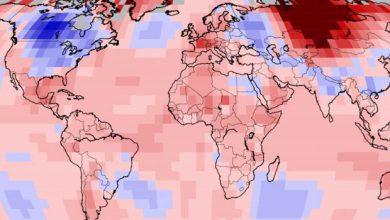 clima globale aprile
