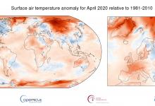 clima aprile caldo