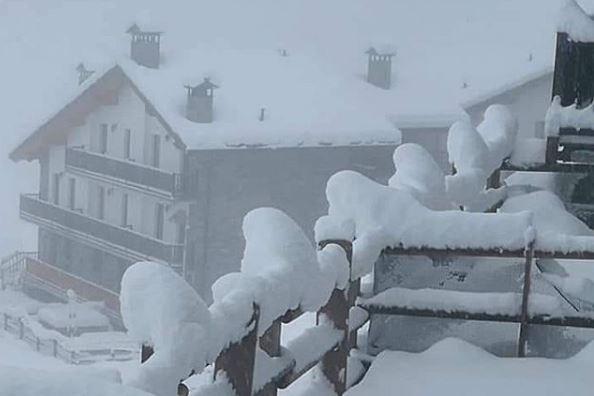 neve valle d'aosta