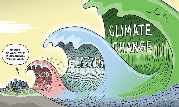 crisi climatica pil