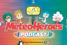 "Podcast: arriva lo spin-off del nuovo cartoon ""Meteoheroes"""