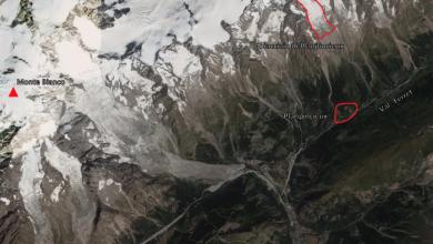 ghiacciaio Planpincieux