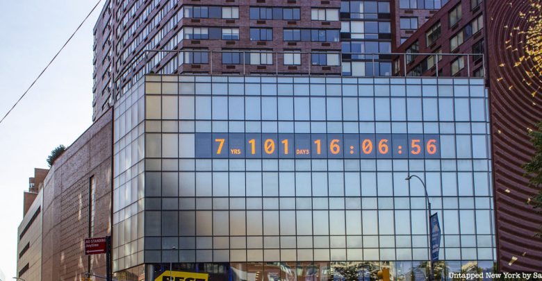 Un orologio climatico conta gli anni di vita del clima