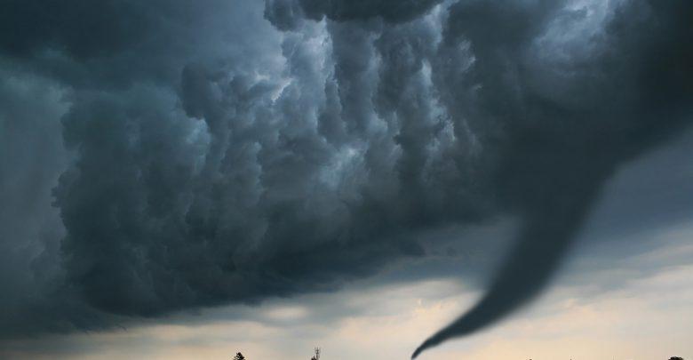 Maltempo estremo: nubifragi, grandinate eccezionali e perfino tornado