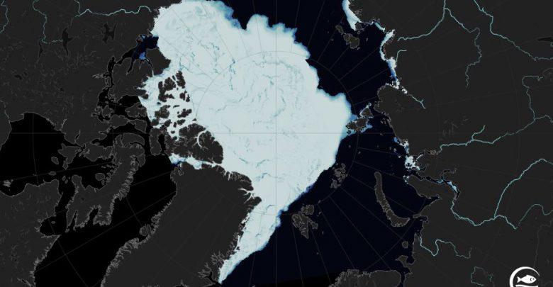 ghiacci marini artico ottobre 2020