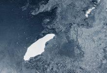 iceberg più grande del mondo georgia del sud