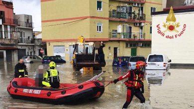 italia clima alluvione calabria 2020
