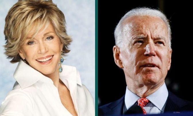 Jane Fonda Biden