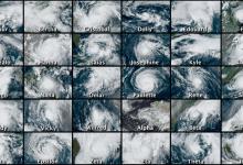 uragani 2020 record