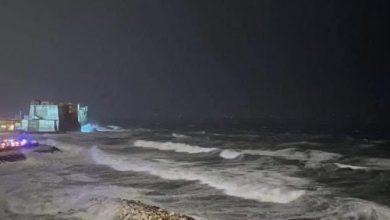 Napoli mareggiata