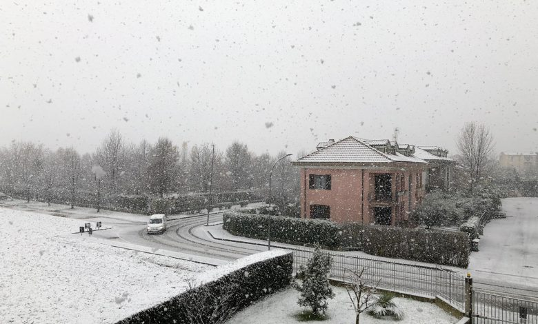 meteo neve brianza 2 dicembre