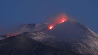 Etna eruzione 13-14 dicembre