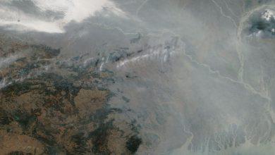 inquinamento india
