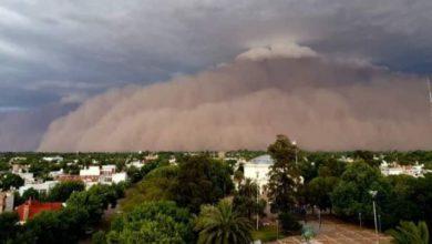 tempesta sabbia argentina