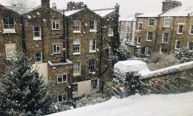 regno unito neve