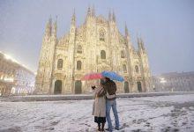 neve a milano dicembre 2020