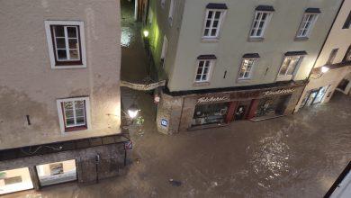Austria alluvione