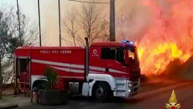 incendio catania incendi