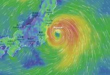 tifone tempesta Tokyo 2020