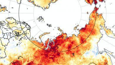 caldo siberia emissioni metano