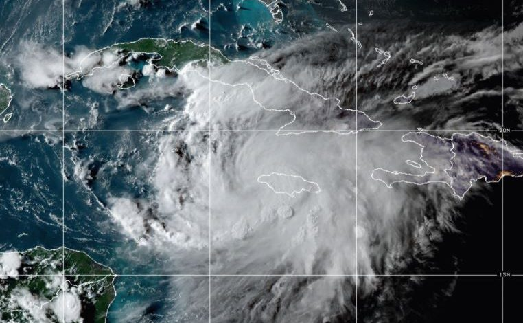 tempesta Grace uragano