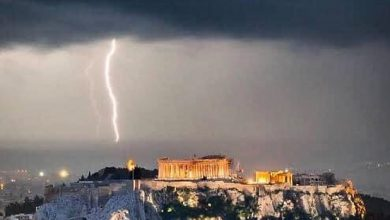 Grecia maltempo
