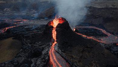 crisi climatica eruzione vulcano
