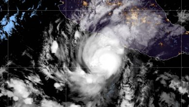 uragano rick messico